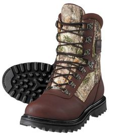 Cabela's Iron Ridge™ Uninsulated Hunting Boots with GORE-TEX® Dog Boots, Combat Boots, Hunting Boots, Hunting Gear, Bow Hunting, Backpacking Boots, Best Bow, Camo Outfits, Camo Patterns