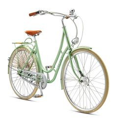 Juliett: custom made bicycle. Luxury bicycle specifications and images. Ladies bike. Available in a variety of colors. Part of the Viva Bikes 2016 Collection.