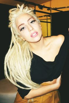 lady gaga (dreads)