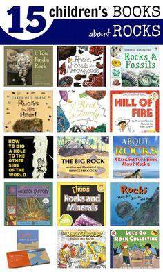 Children's Books about Rocks