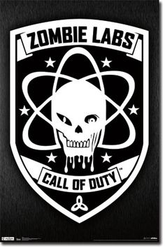 COD Black Ops - Zombie Labs Poster