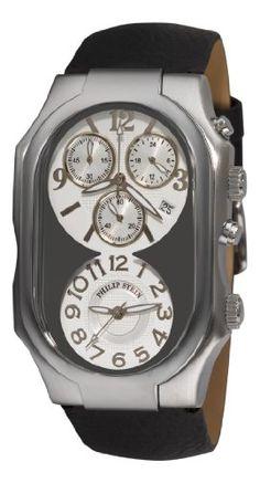 Philip Stein Men%27s 3GCRSCB Chronograph Watch