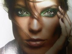 Stunning Eyes | PEACOCK EYES. Stunning Make up from This Summers French Vogue ...