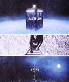 Clara: Show me the stars. #doctorwho