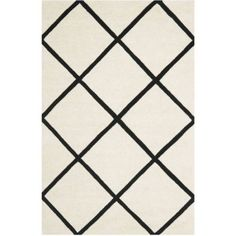Safavieh Chatham Isaac Hand Tufted Wool Area Rug, White