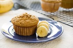Quinoa Banana Muffins: 5 g protein and only 137 calories each.