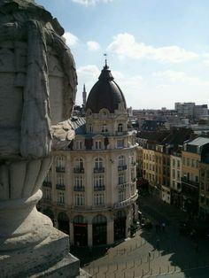 Sur le toit de l'Opéra