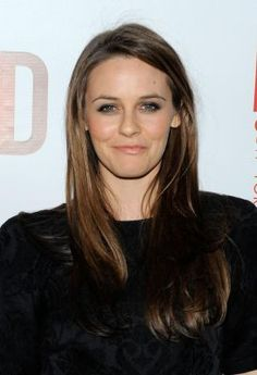 Like this color...Actress Alicia Silverstone. (April 1, 2010)..