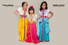Kids fashion - flower girl caftan