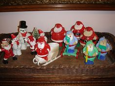 vintage Christmas candy containers by B-Kay, via Flickr