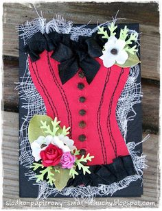 spicy notebook with corset