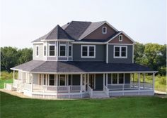 country victorian! My dream country home! Must have wrap around porch!
