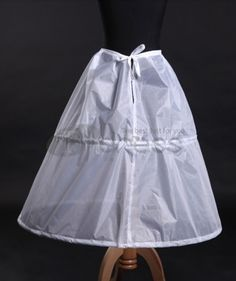 White hard sand wedding petticoat