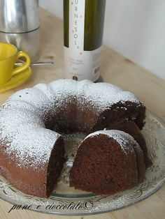 Ciambella al Cioccolato soffice Nutella Cookies, Cake Cookies, Love Eat, Love Food, Sweet Recipes, Cake Recipes, Torte Cake, Sweet Cakes, Sweet Bread