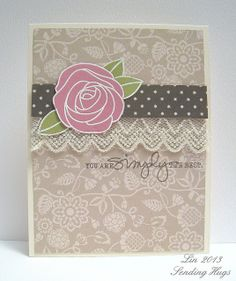 Created by Lin using Simon Says Stamp May 2013 Card Kit.