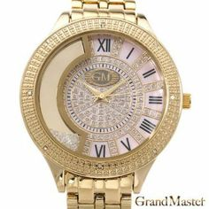 GRAND MASTER GM23-7Y Diamond Ladies Watch - Grand Master - Watches at Viomart.com