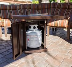 Go look at our web page for way more that is related to this striking backyard fire pit Outdoor Propane Fire Pit, Outdoor Heaters, Outdoor Fire, Outdoor Living, Patio Layout, Patio Heater, Fire Glass, Outdoor Seating Areas, Gas Fires