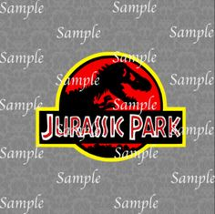 Jurassic Park SVG, DXF, EPS, PNG Digital File – Wickedly Cute Designs