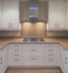 Kitchen Design Gallery, Ikea Kitchen Design, Best Kitchen Designs, Kitchen Layout, Kitchen Decor, Kitchen Ideas, Off White Kitchens, Brown Kitchens, Home Kitchens