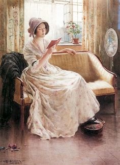 'A Quiet Read' by William Kay Blacklock