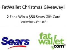 FatWallet Holiday Giveaway Sears Gift Cards