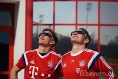 The Schweinsteigers. #Basti #Tobias
