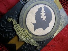 Gothic Halloween Greeting Card - Bride of Frankenstein by ImmortalVisions, $6.50