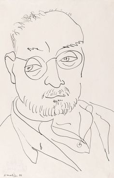 Henri Matisse was one of the great masters of century art. He was a founder of 'Les Fauves' who enjoyed painting still lifes with outrageously bold colors. Henri Matisse, Matisse Kunst, Matisse Drawing, Matisse Art, Line Drawing Artists, Contour Line Drawing, Ellsworth Kelly, Pablo Picasso, Post Impressionism