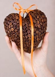 How to make coffee bean covered heart(s): lodijoella