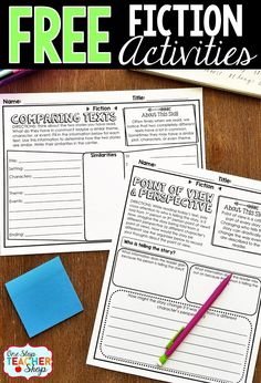 These graphic organizers can be paired with any Nonfiction text! No Prep! Reading Comprehension Comparing Texts Point of View and Perspective Reading Strategies, Reading Skills, Teaching Reading, Reading Comprehension, Teaching Ideas, Guided Reading, Comprehension Strategies, Reading Lessons, Reading Activities