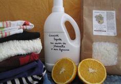 Recette : Lessive liquide au Savon de Marseille fruitée - Aroma-Zone
