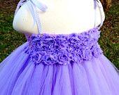 Lavender purple tutu dress, flower girl tutu dress, custom tutu dress, part dress, birthday dress, photo prop dress