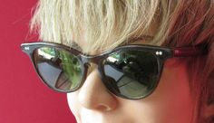 1950s Atomic Rockabilly Cat Eye Sunglasses Brothers by fifisfinds, $70.00