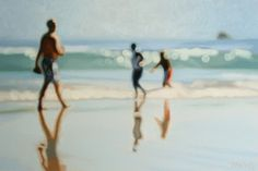 Love: the oil paintings of Philip Barlow, who's fascinated by light and it's effect on different surfaces.