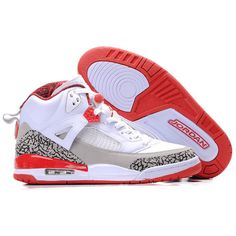 on sale 79be2 f34ce Buy Switzerland Air Jordan Spizike Retro Mens Shoes White Grey Red from  Reliable Switzerland Air Jordan Spizike Retro Mens Shoes White Grey Red  suppliers.