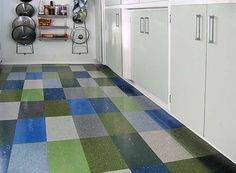 Color Your Floor Old School Vinyl Tile Patterns