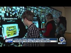 Cleveland Museum of Art introduces interactive elements - YouTube
