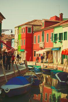 Burano Venice İTALY