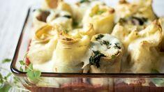 Pierogi, Mozzarella, Macaroni And Cheese, Chili, Ethnic Recipes, Food, Mac And Cheese, Chile, Essen