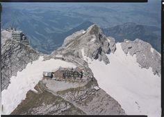 Säntis, Restaurant. LBS_L1-747519 Image Archive, Switzerland, Mount Everest, Restaurant, Mountains, Nature, Photos, Travel, Naturaleza