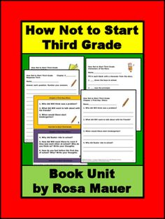 How Not to Start Third Grade by Cathy Hapka and Ellen Titlebaum: Receive six to…