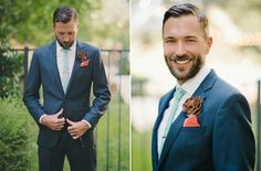 love the turquoise tie