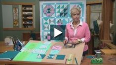 Watch No-Hassle Triangles Quilt Blocks - Part 2 on PBS Wisconsin Easy Sewing Projects, Sewing Projects For Beginners, Sewing Hacks, Sewing Tips, Sewing Ideas, Nancy Zieman, Quilting Tutorials, Sewing Tutorials, Video Tutorials