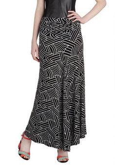 One Sway Or Another Skirt in Maze, #ModCloth