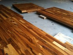 A review: IKEA butcher block countertops and Waterlox finish - NewlyWoodwards