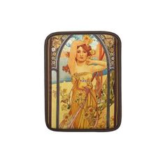 Alphonse Mucha ~ Radiance Day ~ Vintage Art Sleeves For Ipads by TheVintageVamp  Very Cool!!