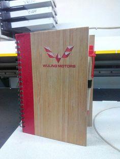Wooden memo with digital printing branding technic By www.bentaraunik.com