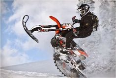 Timbersled Snow Bike Kit | Dirt Bike Snow Conversion Kit | Bike Snow Conversion Kit | Timbersled ...