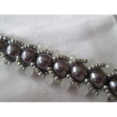 "Armband ""Purple Pearls"""