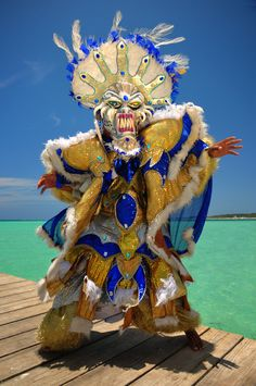 Dominican Carnival (Caribbean Festival) by Jorge Carlos Alvarez, via Behance